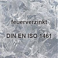 feuerverzinkt DIN 1461