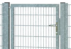 Vario-Tore für Industrie-Zaunmatten 8-6-8