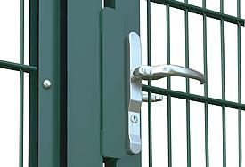 schwere Tore für Industrie-Zaunmatten 8-6-8