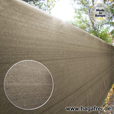 Sichtschutznetz 230 gr/m² sandgrau 25m Rollen