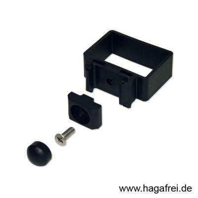 EASY-B-EASY Universaleckschelle für Rechteckpfosten 60 x 40 / 6