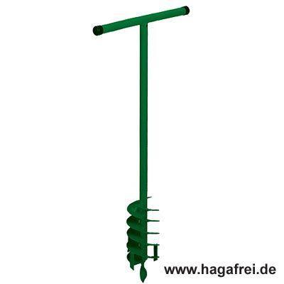 Erdbohrer Bohrloch 15 cm