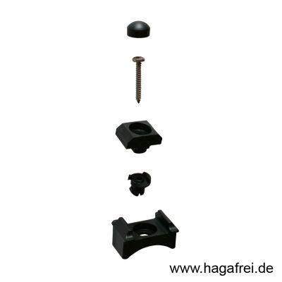 Klemmhalter EASY-B-EASY 60/6 mm