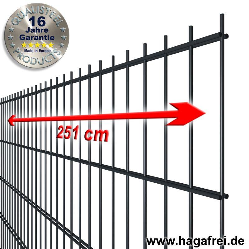 Häufig Industrie-Doppelstabmatte 8-6-8 fvz. + beschichtet RO97