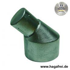 Pfostenabwinkelung Aluminium + grün 60/42 mm