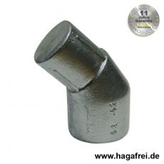 Pfostenabwinkelung Aluminium 42/42 mm