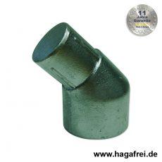 Pfostenabwinkelung Aluminium + grün 48/42 mm