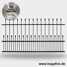 Zaunfeld DECORA DK feuerverzinkt + schwarz 2000mm breite