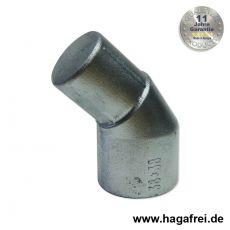 Pfostenabwinkelung Aluminium 38/38 mm