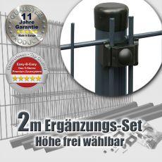2m Mattenzaun-Ergänzungs-Set EASY-B-EASY