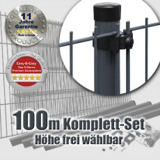 100m Mattenzaun-Set EASY-B-EASY Universal Light