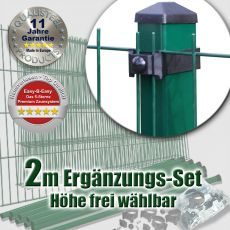 2m Mattenzaun-Ergänzungs-Set EASY-B-EASY Universal Heavy RE