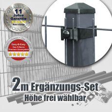 2m Mattenzaun-Ergänzungs-Set EASY-B-EASY Universal Heavy RE