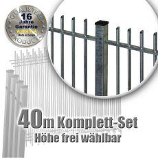 Frontgitter PROTECTION Komplett-Set feuerverzinkt 40m