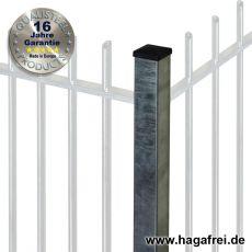 Zaunpfosten PROTECTION feuerverzinkt 60 x 60 mm