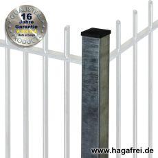 Zaunpfosten PROTECTION feuerverzinkt 80 x 80 mm