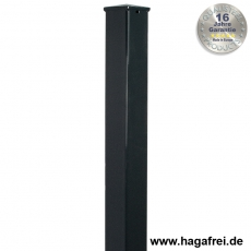 Zaunpfosten BARO feuerverzinkt oder fvz. + pulverbeschichtet 60x60 mm