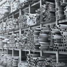 Rechteckrohr sendzimir-verzinkt 60 x 40 x 2,0 mm
