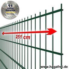 Industrie-Doppelstab-Zaunmatte 6-5-6 verzinkte Drähte + pulverbeschichtet