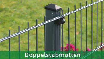 anthrazit Sicht 25,5 m Doppelstabmattenzaun /& Windschutz für Stabmattenzäune